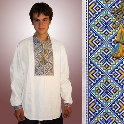 Заготовки для вишивки жіночої сорочки